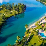 Holiday Inn Resort Vanuatu aerial view